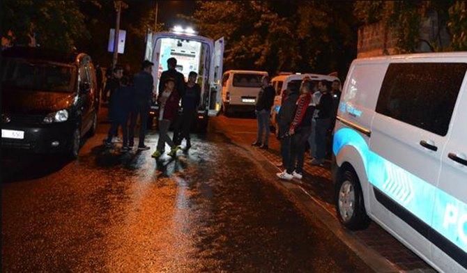 Photo of Sarhoş: Eşini Bıçakladı Balkonda Sızdı