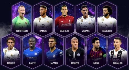 Photo of UEFA ,2018 yılının en iyi 11'ini açıkladı.