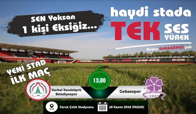 Photo of Karaköprü Belediyespor Yeni Statta İlk Galibiyeti İstiyor