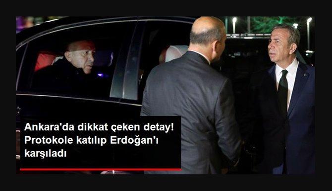 Photo of Mansur Yavaş Erdoğanı Karşıladı